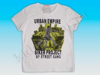 Футболка для мальчика белая Urban Empire